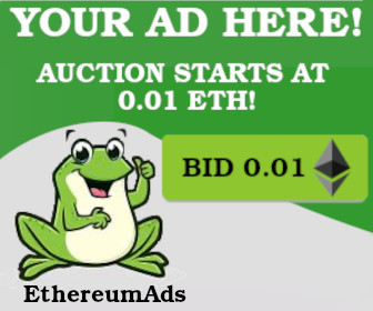 Earn cryptocurrency with EthereumAds
